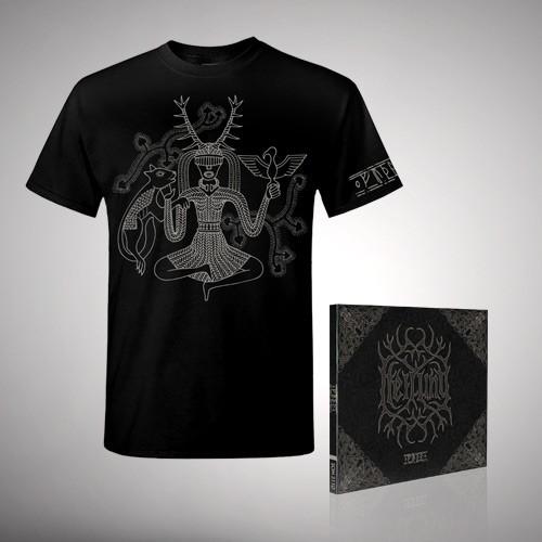 Heilung - Bundle 1 - CD DIGIPAK + T-shirt bundle (Men)