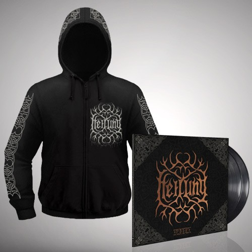 Heilung - Bundle 12 - Double LP gatefold + Zip hoodie bundle (Men)