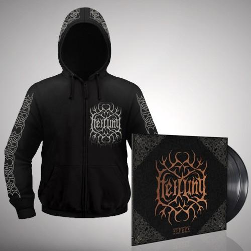 Heilung - Bundle 12 - Double LP gatefold + Zip hoodie bundle (Men)