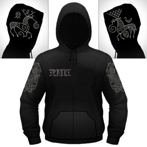 Heilung - Hirsch - Hooded Sweat Shirt Zip (Men)