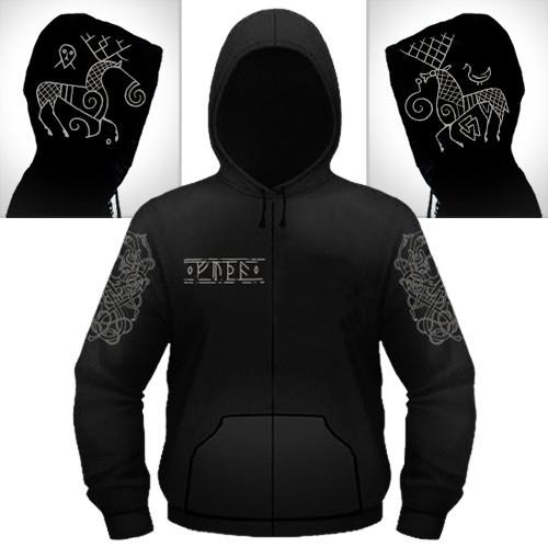 Heilung - Hirsch - Hooded Sweat Shirt Zip (Men)