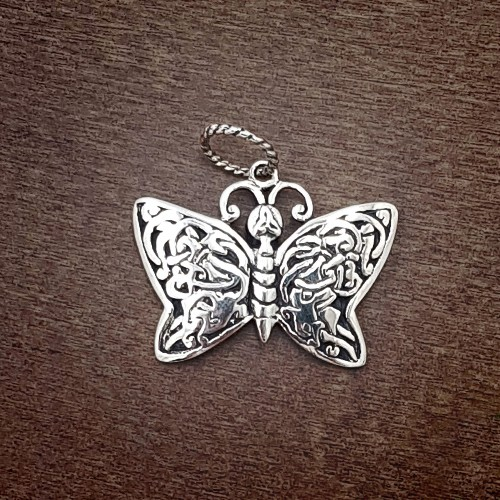 Knotwork Butterfly - PENDANT