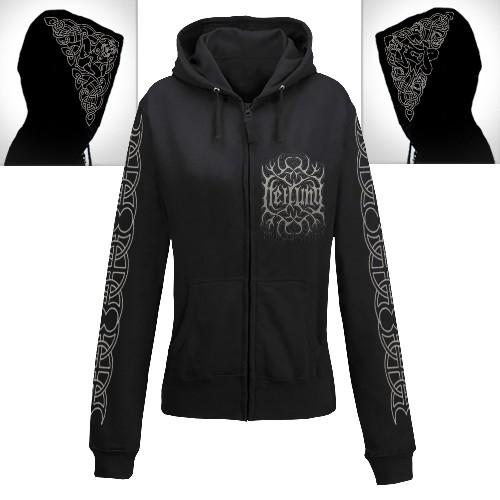Heilung - Sol Og Mani - Hooded Sweat Shirt Zip (Women)