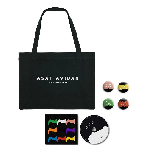 Asaf Avidan - Anagnorisis - CD DIGIPAK + Shopping Bag + Button Badge Set Bundle