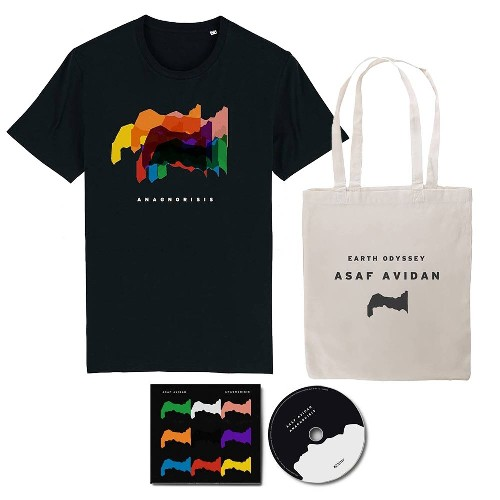 Asaf Avidan - Anagnorisis - CD DIGIPAK + T-shirt + Tote Bag Bundle