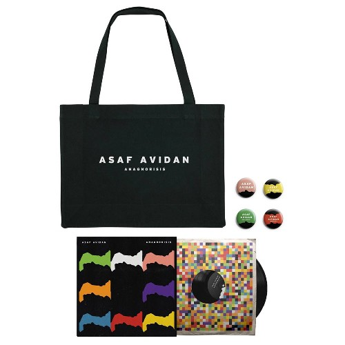 Asaf Avidan - Anagnorisis - LP Gatefold + Shopping Bag + Button Badge Set Bundle