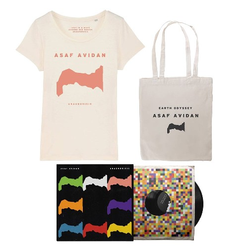 Asaf Avidan - Anagnorisis - LP gatefold + T-shirt + Tote bag Bundle (Women)