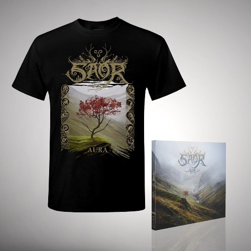 Aura - CD DIGIPAK + T-shirt bundle (Men)