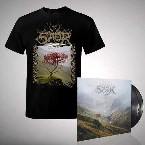Aura - Double LP gatefold + T-shirt bundle (Men)