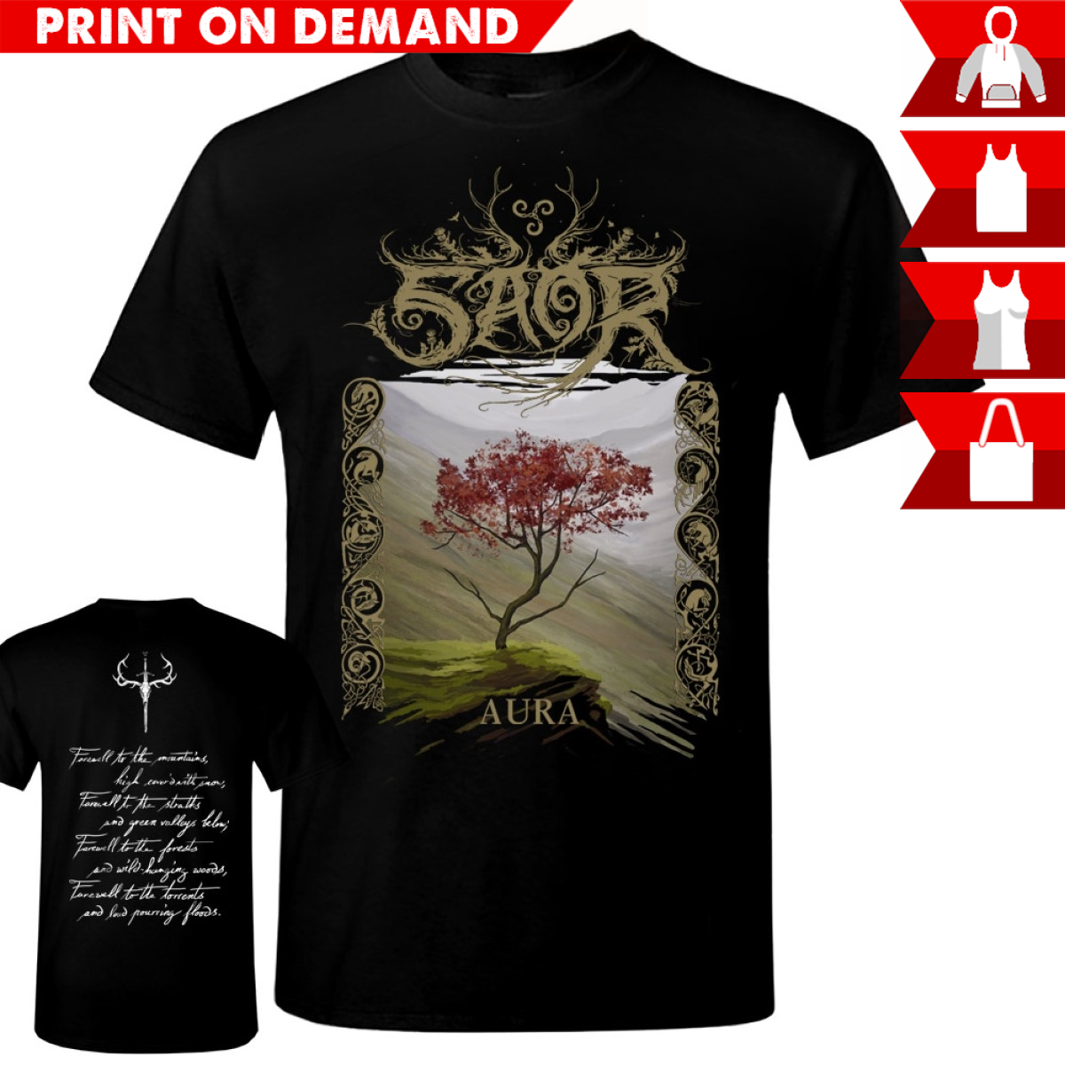 Aura - Print on demand