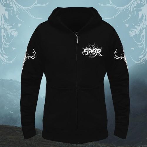 Saor - Deer - Hooded Sweat Shirt Zip (Men)