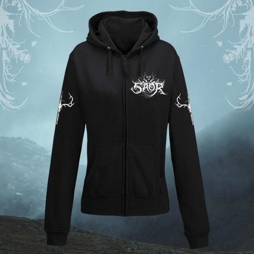 Saor - Deer - Hooded Sweat Shirt Zip (Women)
