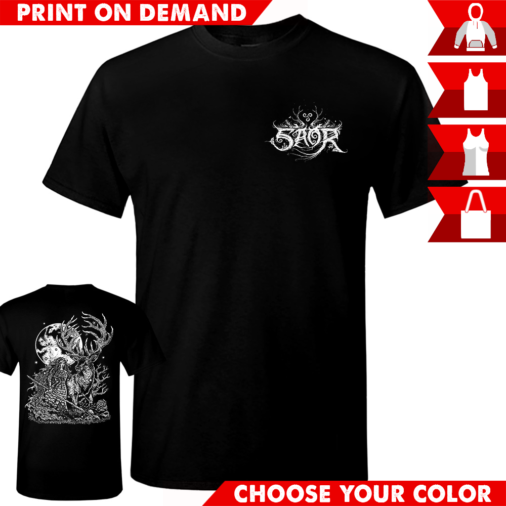 Saor - Deer Logo - Print on demand