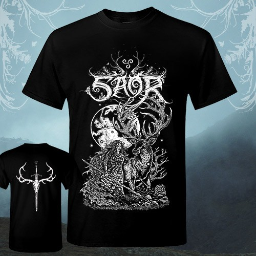 Saor - Deer - T-shirt (Men)